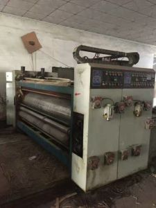 Flexo Box Making Machine for Sale pictures & photos
