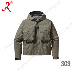 Men′s Waterproof Fishing Jacket with High Quality (QF-9064) pictures & photos