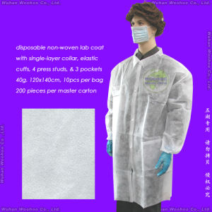 Disposable Hospital Lab Coat pictures & photos