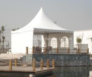 Hotsale 5X5m Lakeview Pagoda Tent pictures & photos