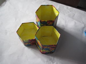 Foldable Pencil Vase (CS039)