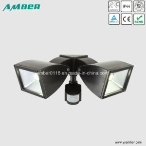 20W Outdoor Twin LED Floodlight with Sensor pictures & photos