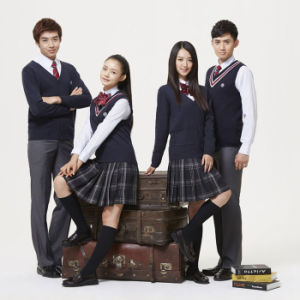Big Factory Cheapest High Quality Girl School Uniform pictures & photos