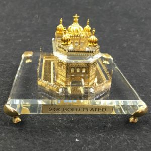 Golden Temple Crystal with 24K Gold Plated Model
