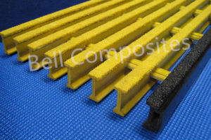 Fiberglass Pultruded Grating, Glassfiber Pultrusions, FRP/GRP Grating. pictures & photos