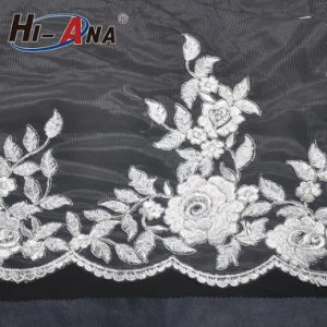 Trade Assurance Hot Selling Embroidery Lace Sequin Pearl pictures & photos