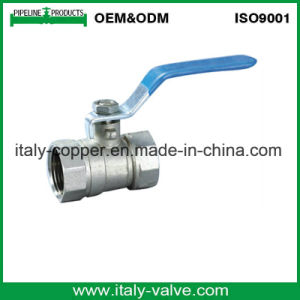 5years Quality Guarantee Reducer Brass Ball Valve in Nickel (AV1011) pictures & photos