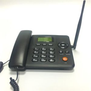 OEM Customized FM Radio Wireless 3G GSM House Phone/Landline Phone with SIM Card pictures & photos