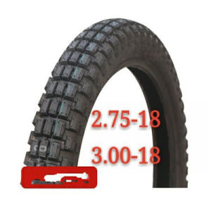 New Pattern Design 275-18 Motorcycle Tyre with High Safety pictures & photos