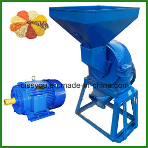 Mini Model Disk Mill Corn Crusher Grain Mill Machine pictures & photos