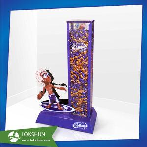 Supermarket Snacks Floor Display Stands Cardboard for Chocolate Cookies pictures & photos