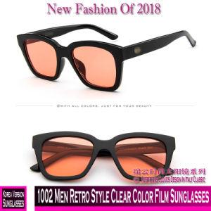 1002 Men Retro Style Clear Color Film Sunglasses pictures & photos