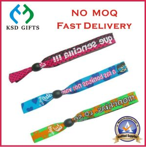 Customized Hot Sell Jacquard Fabric Bracelet (KSD-983) pictures & photos