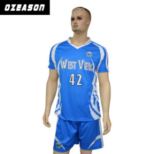 Custom Soccer Shirt Sublimation Soccer Jersey Uniform for Teams (S026) pictures & photos