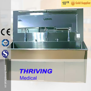 Stainless Steel High Quality Scrub Sink (THR-SS030) pictures & photos