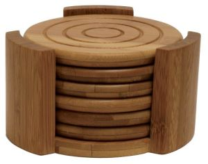The Stock Best-Selling Wood Cup Coaster pictures & photos