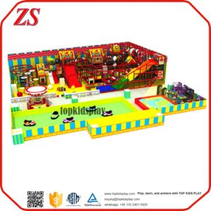 colorful Playground Equipments Children Indoor Soft Play Areas for Games pictures & photos