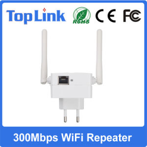 802.11 B/G/N 300Mbps Wireless Booster for Long Distance WiFi Signal Extender pictures & photos