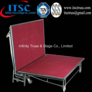 4X8FT Steel Folding Stage Mobile Stage (ITSC-S04) pictures & photos