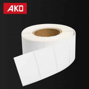 Cheap Industrial Thermal Coared Layer Self Adesive Paper Tickets Rolls pictures & photos