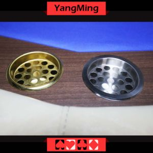 Cigarette Ashtary Ash Holder Made of High-Grade Stainless Steel Windproof for Casino Poker Table Dedicated Use Ym-PA01 pictures & photos