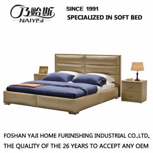 Bedroom Set of Double Bed with Modern Design G7005 pictures & photos