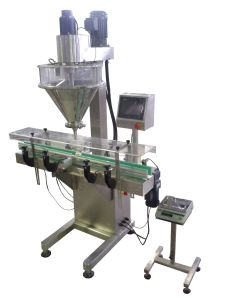 Automatic Linear Sport Supplement Powder Filling Machine pictures & photos