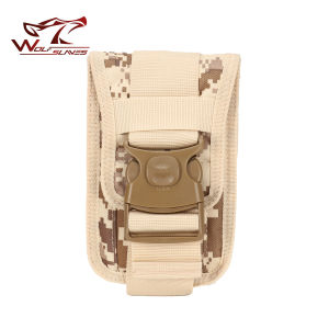 Molle Waist Bag Army Tactical Military Mobile Phone Bag Belt Pouch Case Cover Phone Pouch pictures & photos