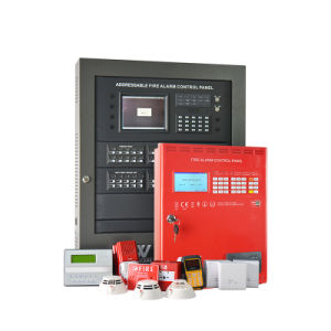 Fixed Temperature Addressable Fire Alarm Heat Detector for High Building pictures & photos