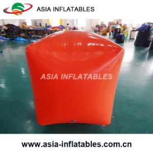 Inflatable Swim Buoy in Cube Shape for Water Triathlons Advertising pictures & photos