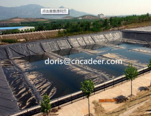 HDPE Black Geomembrane for Environmental Projects Waterproof pictures & photos
