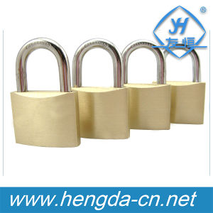 Yh1636 Factory Direct Sale Security 30mm Cylinder Brass Padlock pictures & photos