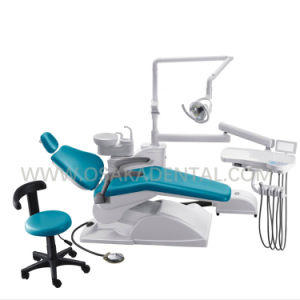 Osa-4c Economical Dental Chair with Symple Base Function pictures & photos