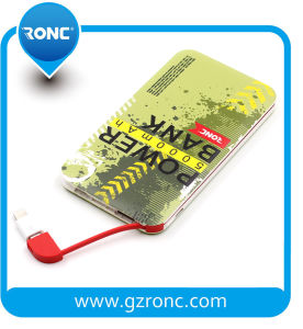 Christmas Gift Credit Card Power Bank 5000mAh pictures & photos