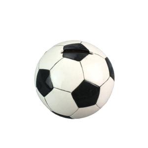 Custom Soccer Ball Sport Themed Ceramic Coin Bank/Piggy Bank pictures & photos