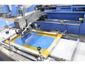 5 Colors Label Ribbons Automatic Screen Printing Machine with SGS pictures & photos