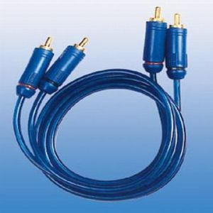 Transparent Blue Color Audio Vide Cable RCA Cable (ZH0050)