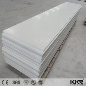 Building Material Glacier White Artificial Marble Acrylic Solid Surface Sheet pictures & photos