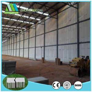 Lightgwight Heat Insulation EPS Sandwich Wall Panel Warehouse pictures & photos