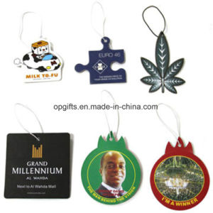 Promotional Customized Hanging Paper Car Air Freshener pictures & photos