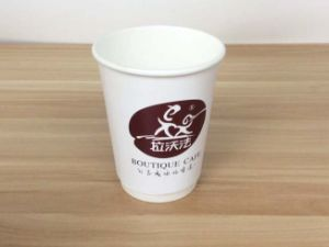 16 Oz Disposable Coffee Paper Cup with Lid pictures & photos