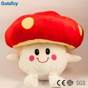 High Quality Custom Plush Mushroom Stuffed Soft Toy pictures & photos