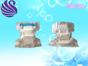 Economic Comfortable and Soft Breathable Baby Diaper pictures & photos