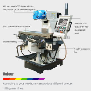 Hobby Milling Machine Price Xq6232A Universal Milling Machine