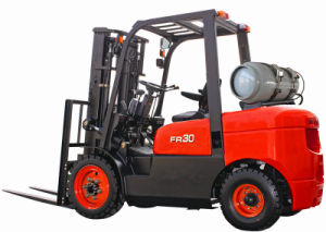 3T Gasoline Forklift with CE (CPQD30FR) pictures & photos
