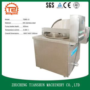 Electric Heating Semi-Automatic Frying Machine for Snack Food pictures & photos