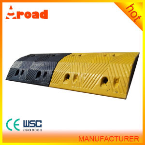 Roadway Safety Rubber Speed Hump with Quick Delivery pictures & photos