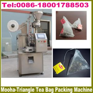 Pyramid Nylon Mesh Tea Bag Packing Machinery pictures & photos