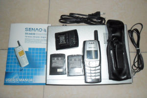 Senao Sn-6610 15km 1 Base Can Support 9 Handset Long Range Cordless Telephone pictures & photos