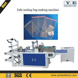 BOPP Side Sealing Plastic Bag Making Machine with Adhesive Tape (SZD-600) pictures & photos